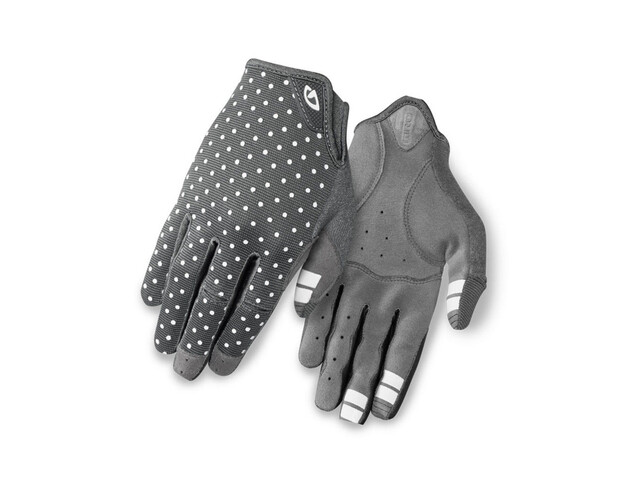 Giro LA DND Gloves Women dark shadow/white dots
